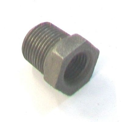 Malleable Black Iron Threaded Bush 3/8 to 1/4 - 22000010